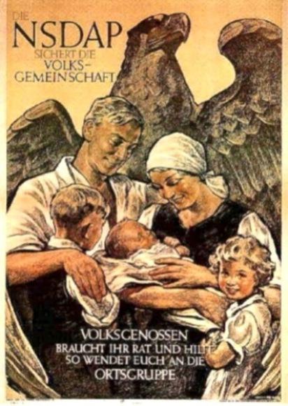 NSDAP poster